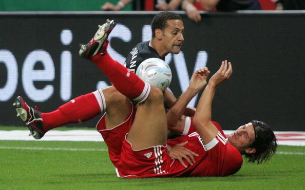 Фердинанд,Марио Гомес Бавария - Манчестер Юнайтед /Getty Images