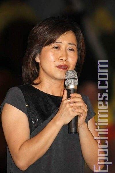 Депутат г.Тайбэй Линь Ихуа осудила репрессии Фалуньгун китайской компартией. 20 июля. Тайбэй (Тайвань). Фото: Ван Жэньцзюн/ The Epoch Times