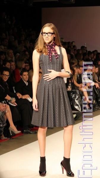 Колекція від David Dixon на тижні моди LG в Торонто. Фото: Tiyanye/The Epoch Times