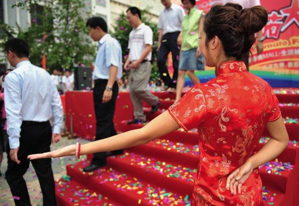 Праздник томатов в провинции Гуандун. Фото: China Photos/Getty Images