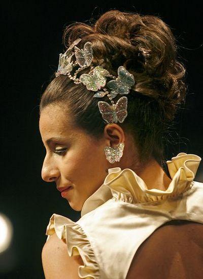 Показ свадебной коллекции в Дубаи/Фото : АFP