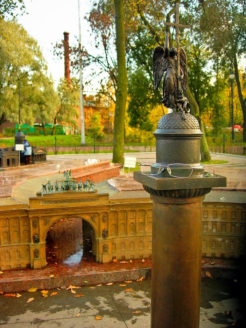 Александровская колонна. Фото: Алла Лавриненко/The Epoch Times Украина