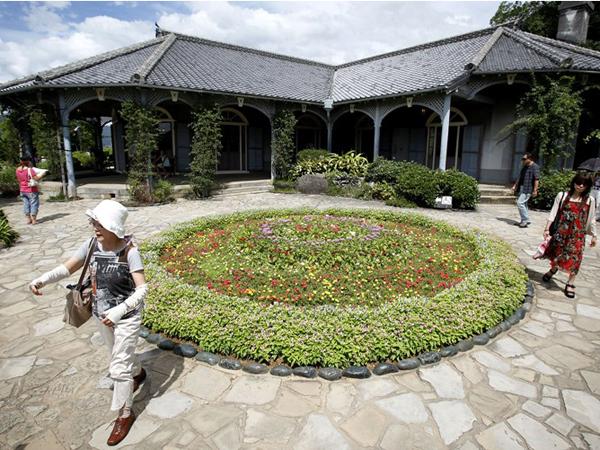 Один из старейших домов в Нагасаки, постоенных в западном стиле - Glover House в Glover Garden - дом бывшего шотландского купца Томаса Гловера. Фото: Kiyoshi Ota / Getty Images