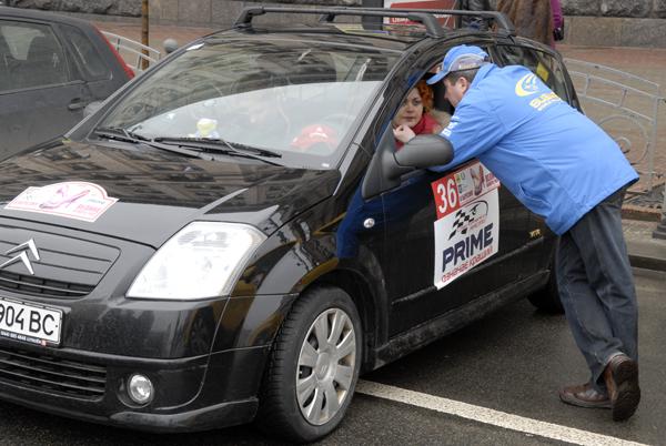 Женское ралли стартовало в Киеве. Фото: Владимир Бородин/The Epoch Times
