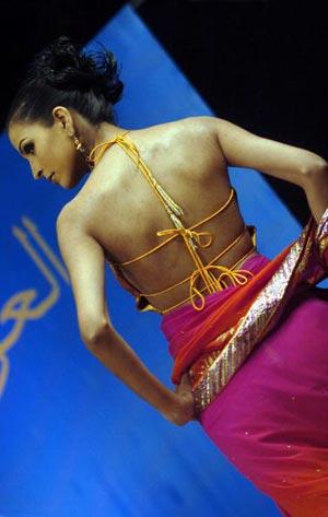 Колекція індійського модельєра Самер Пател. Фото: Асіф Хасан/AFP/Getty Images.
