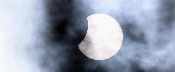 Солнечное затмение. 1 августа 2008 г. Фото: Photo by Dan Kitwood/Getty Images
