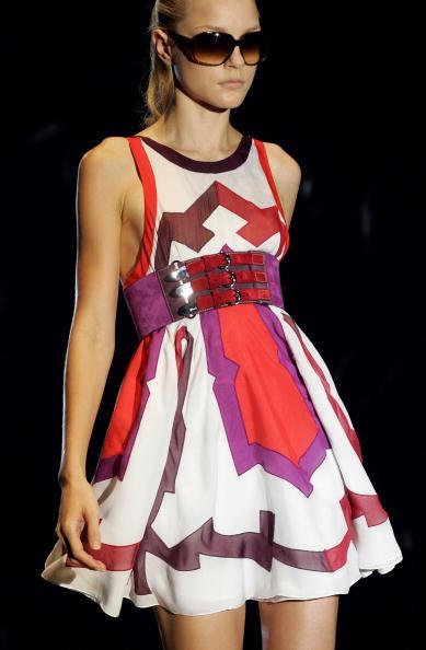 Канадская супермодель Джессика Стэм (Jessica Stam). Фото: Getty Images