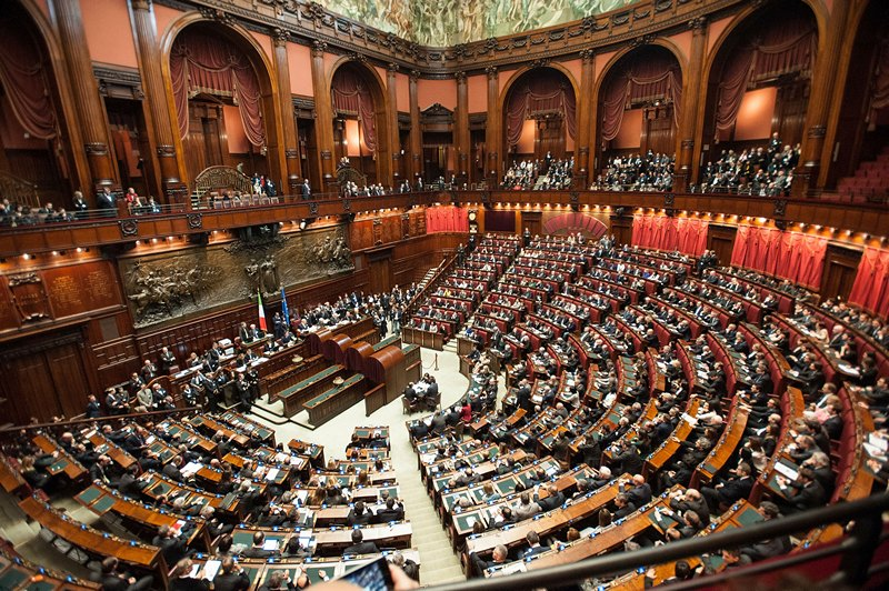 Рим, Італія, 15 березня. Парламент нового обрання розпочав свою роботу. Фото: Giorgio Cosulich/Getty Images