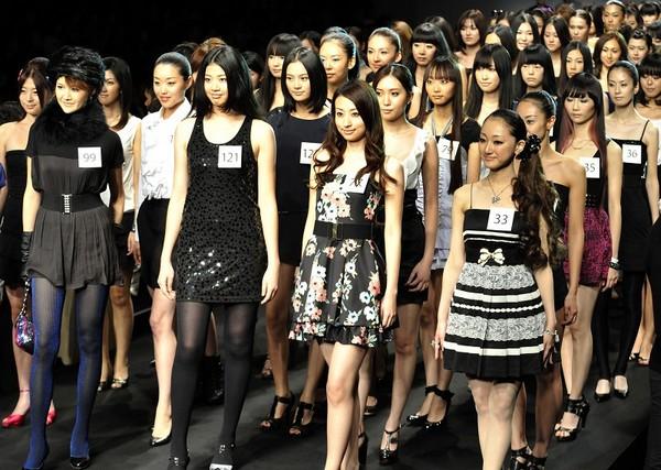 Конкурс моделей в Токио/Getty Imgaes