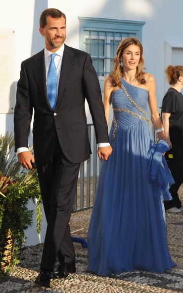 Гості на весіллі принца Греції Ніколаоса і Тетяни Блатнік. Спадкоємець іспанського престолу Феліпе з дружиною Летіцією. Фоторепортаж. Фото: Chris Jackson / Getty Images