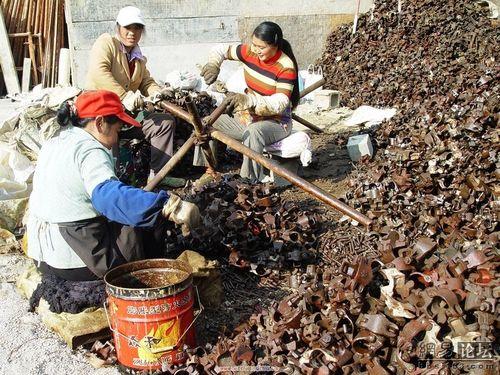 Китайские крестьяне на заработках. Фото с сайта epochtimes.com