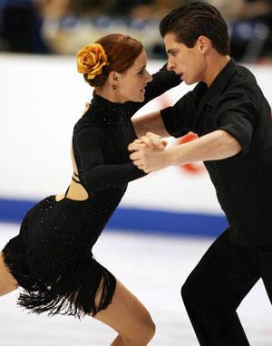 Канадська пара Tessa Virtue і Scott Moir в ході чемпіонату світу з фігурного катання. Фото: Koichi Kamoshida/Getty Images