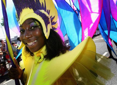 Лондон празднует Карнавал Notting Hill. Фото: Chris Jackson/Getty Images