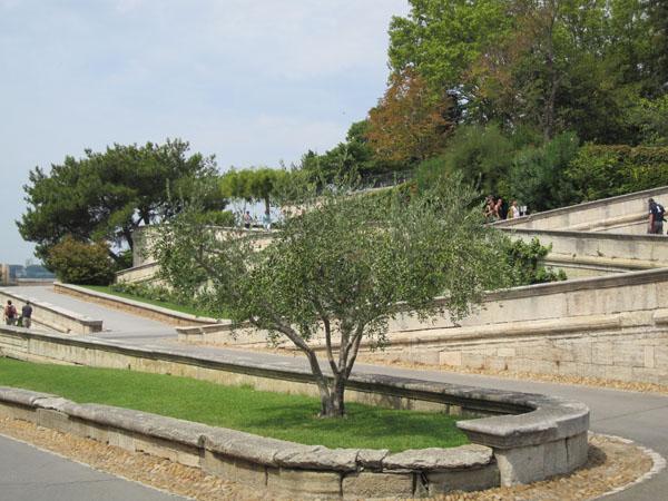 Дорога в парк Роше де Дом, Avignon, FRANCE. Фото: Ирина Лаврентьева/Великая Эпоха