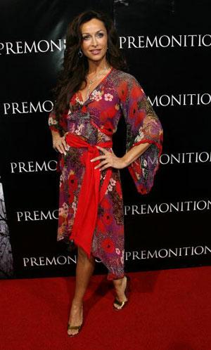 Актриса София Милош (Sophia Milos) посетила премьеру фильма в Голливуде. Фото: Michael Buckner/Getty Images