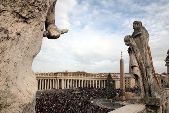 Рождественская месса в Ватикане. Фото: Franco Origlia/Getty Images