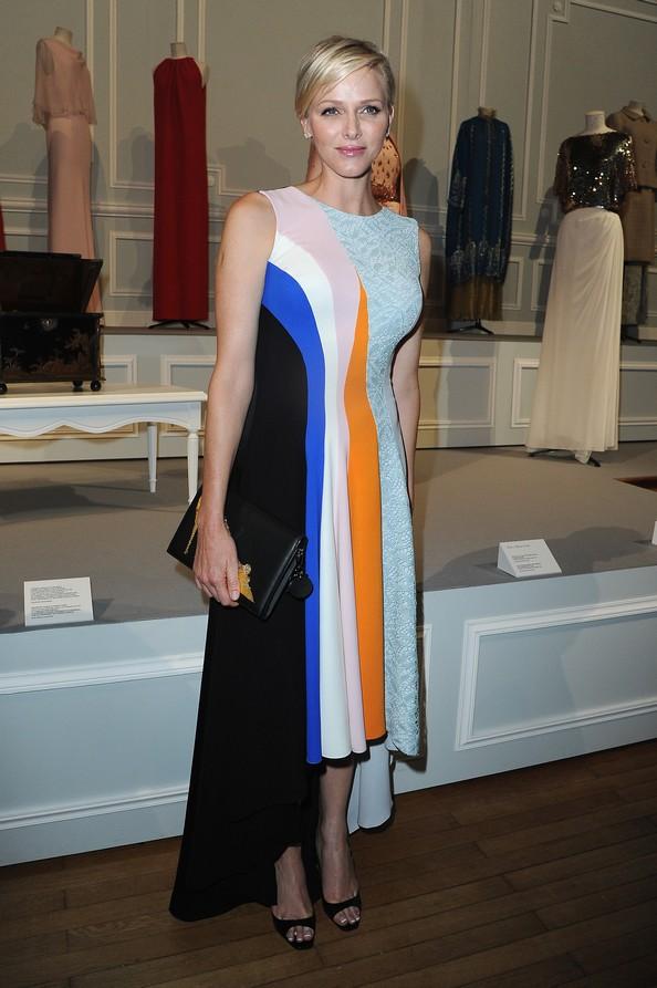 Княгиня Шарлен на показе круизной коллекции 2014 от Dior. Фото: Pascal Le Segretain/Getty Images for Dior