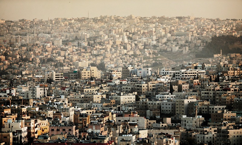 Столица Иордании, Амман. Вид на город. Фото: Adam Pretty/Getty Images