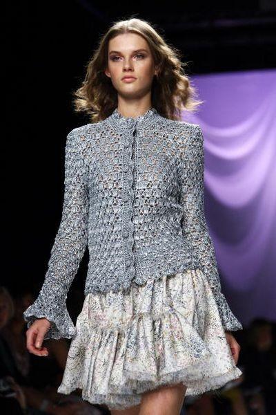 Показ весенне-летней коллекции Luisa Beccaria в рамках Недели высокой моды в Милане. Фото: Vittorio Zunino Celotto/Getty Images