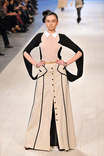 Коллекция Ларисы Лобановой на Ukrainian Fashion Week 19 марта 2011 года. Фото: Владимир Бородин/The Epoch Times Украина