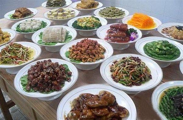 Блюда из монашеского рациона. Фото с secretchina.com