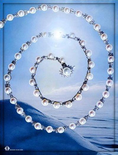 Издавна жемчуг символизирует любовь и счастье, процветание и богатство. фото с secretchina.com