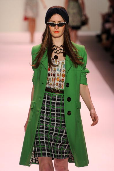 Презентация коллекции Michelle Smith весна 2011 на Неделе мод Mercedes-Benz в Нью-Йорке. Фото: Frazer Harrison/Getty Images for IMG