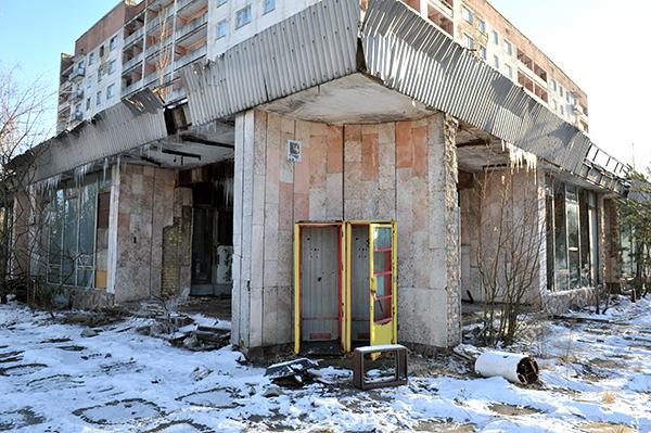 Здание в Припяти. Фото: Владимир Бородин/The Epoch Times