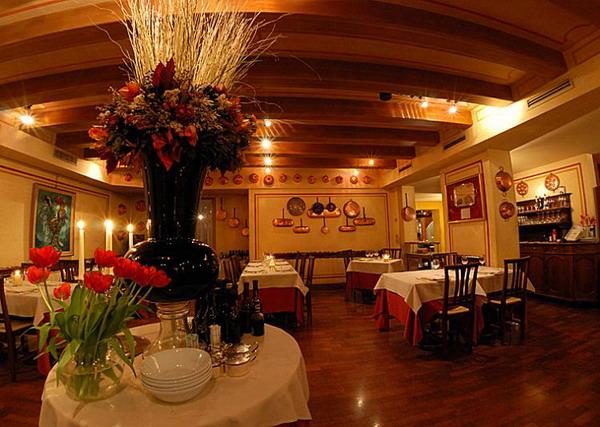 Італійська замальовка: ресторан у Le Beccherie - один з найстаріших в Тревізо і перший, де був приготований «тірамісу». Фото з сайту theepochtimes.com