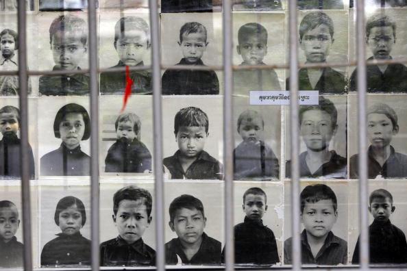 Суд над червоними кхмерами сьогодні має оголосити свій перший вирок 67 річному Кейнг Гуек Іву. Фото: Paula Bronstein / Getty Images