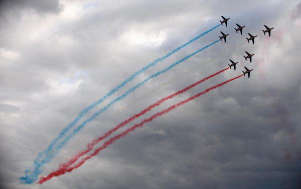 МАКС-2009 прошел девятый в г.Жуковском с 18 по 23 августа. Фото: DMITRY KOSTYUKOV/AFP/Getty Images