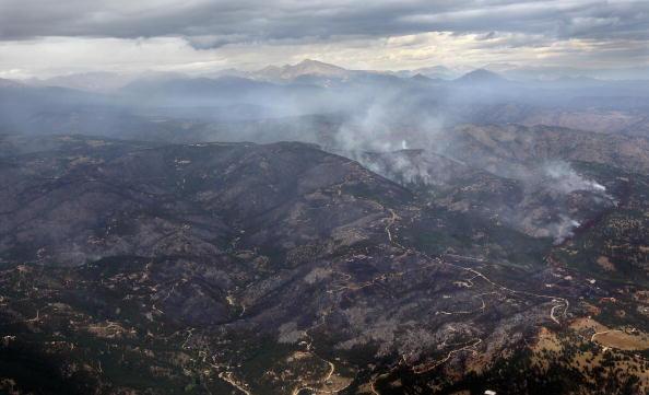Лісова пожежа охопила каньйон Колорадо, загинули 9 пожежників. Фоторепортаж. Фото: John Moore/Getty Images