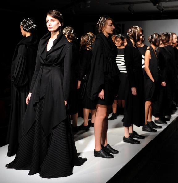 Тиждень моди пройшов в Грузії. Фото: Вано SHLAMOV/AFP/ Getty Images