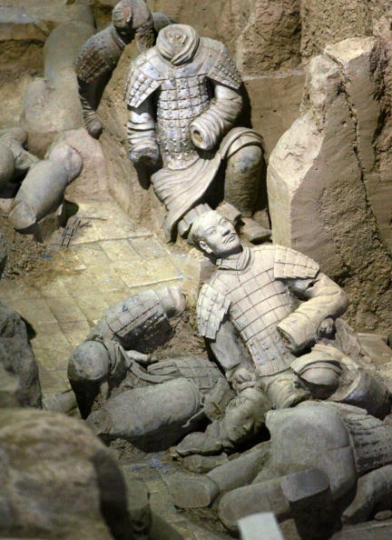 Теракотова армія першого імператора Китаю. Фото: Getty Images