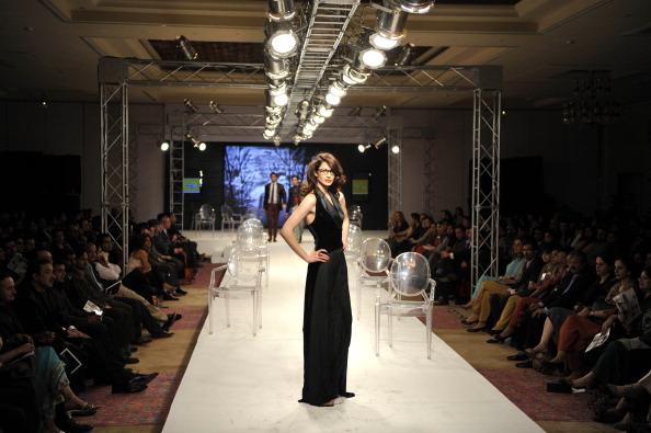 Исламабадская неделя моды — Ammar Belal. Фото AAMIR QURESHI/AFP/Getty Images