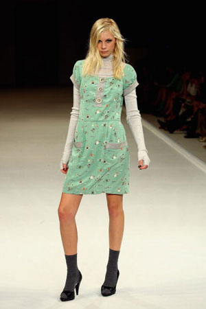 Тhe Independent Runway By Mini show. Фото: Kristian Dowling/Getty Images