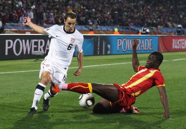 Гана - США Фото: Kevork Djansezian, Stuart Franklin /Getty Images Sport