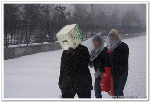 Китай продолжает страдать от сильной непогоды. Фото с secretchina.com