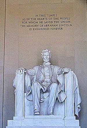 Памятник Линкольну. Фото: Энни Пилзберри/The Epoch Times