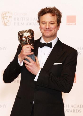 Лучший актер: Колин Ферт — «Речь короля». Фото: Chris Jackson/Getty Images