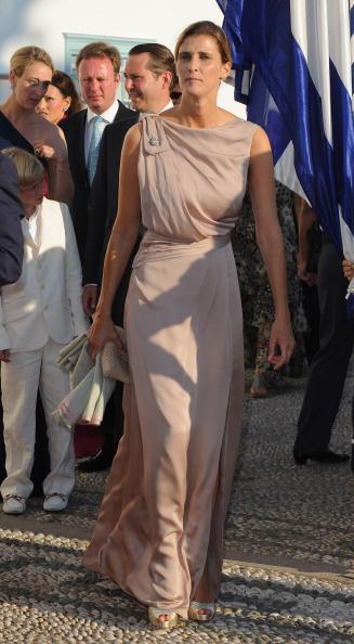 Гости на свадьбе принца Греции Николаоса и Татьяны Блатник. Принцесса Россариа из Болгарии. Фоторепортаж. Фото: Chris Jackson/Getty Images