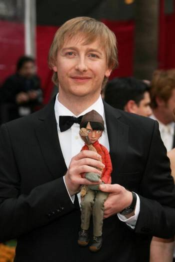 Продюсер Хью Уэлчман (Hugh Welchman) посетил церемонию вручения Премии Оскар в Голливуде Фото: Frazer Harrison/Getty Images
