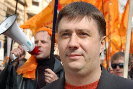 Лидер партии «Наша Украина» Вячеслав Кириленко. Фото: Владимир Бородин/Великая Эпоха