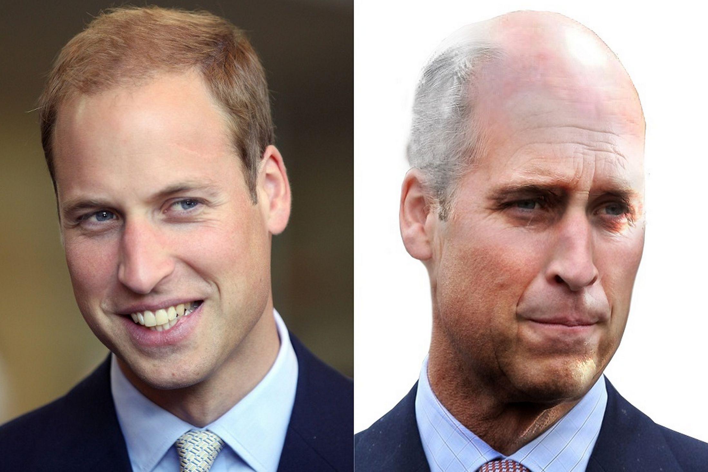 Зображення членів королівської сім'ї у шанованому віці розробили спеціалісти сайту Voucher Codes Pro.