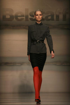 The Belstaff fashion show/женская коллекция осень-зима 2007. Фото: Giuseppe Cacace/Getty Images