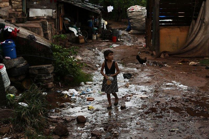 Тегусигальпа, Гондурас, 18 июля. Столица страны входит в число самых бедных регионов мира. Фото: Spencer Platt/Getty Images