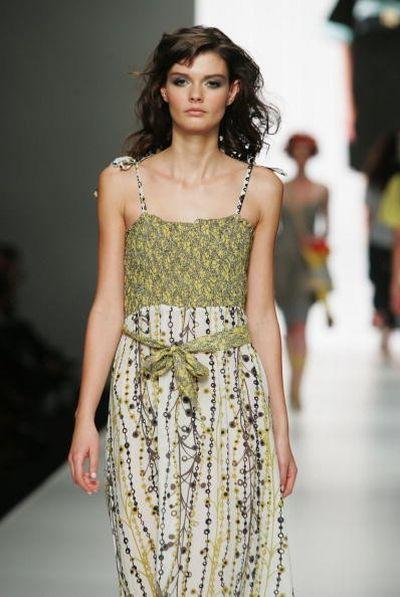 Коллекция одежды от дизайнера Body, фото: Gaye Gerard/Getty Images