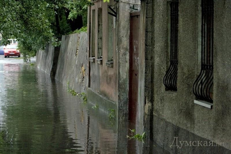 Одесские улицы после потопа. Фото: Думская.net