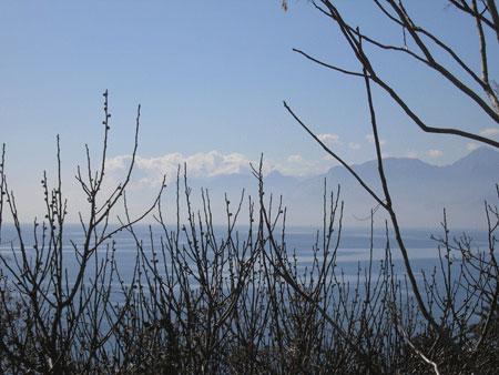 Вид на анталийское побережье. Фото: Елена Подсосонная