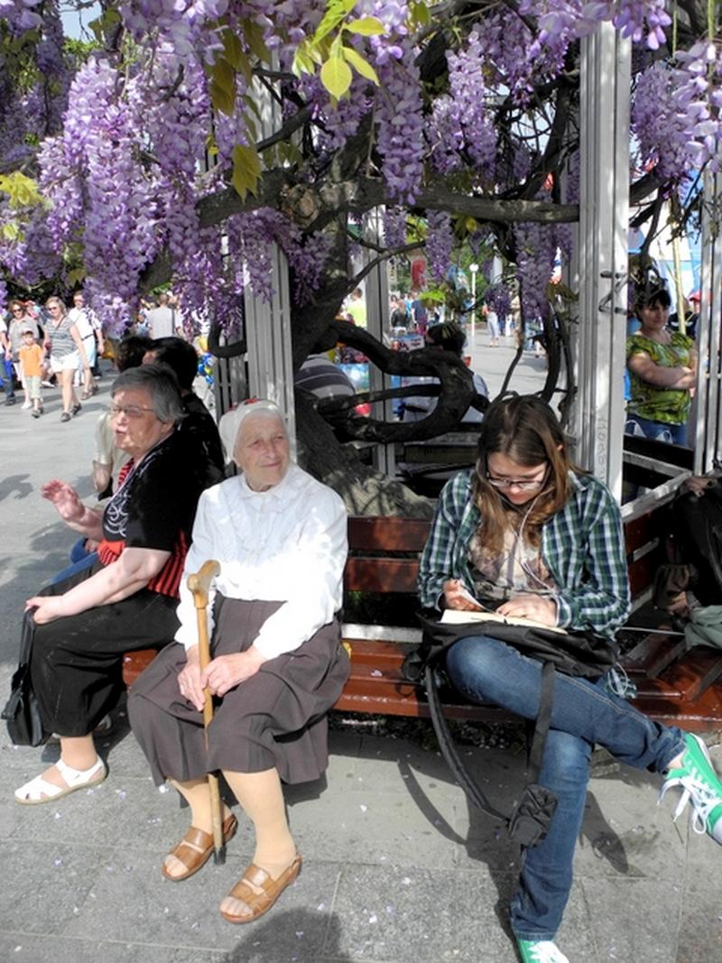 Подорож старими вуличками травневої Ялти. Фото: Алла Лавриненко/Велика Епоха